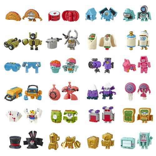 Transformers Botbots Blind-Bag Wave 4 6-Pack