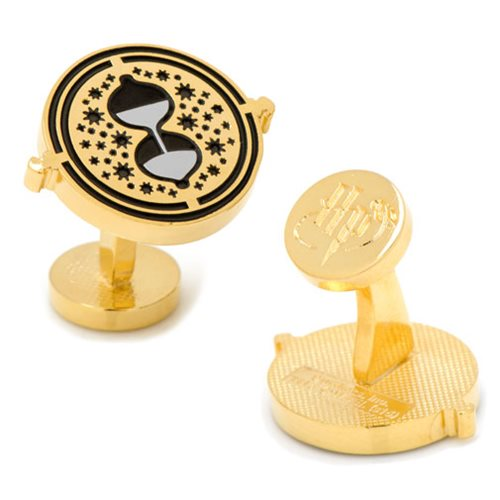 Harry Potter Gold Time Turner Cufflinks