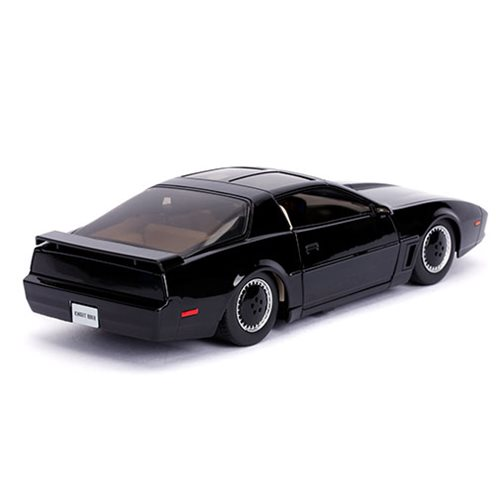 Hollywood Rides Knight Rider KITT 1982 Pontiac Trans Am 1:24 Scale Die-Cast Metal Vehicle with Light