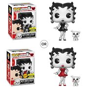 Betty Boop Black-and-White Pop! Vinyl Figure and Buddy - Entertainment Earth Exclusive, Not Mint