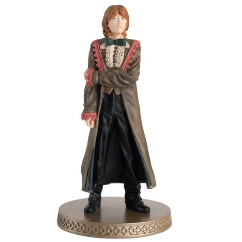 Harry Potter Wizarding World Collection Yule Ball Ron Weasley Figure with Collector Magazine