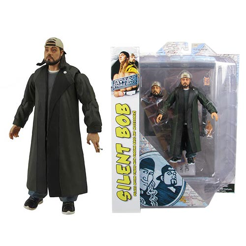 Jay and Silent Bob Strike Back Silent Bob Diamond Select Action Figure