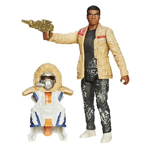 Star Wars: The Force Awakens Armor Series Finn Figure, Not Mint