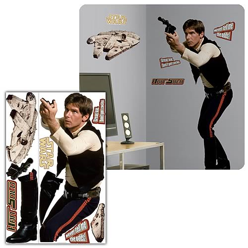 Star Wars Classic Han Solo Solo Peel & Stick Giant Applique