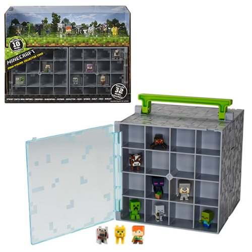 Minecraft Mini Collector Case with 10 Mini-Figures
