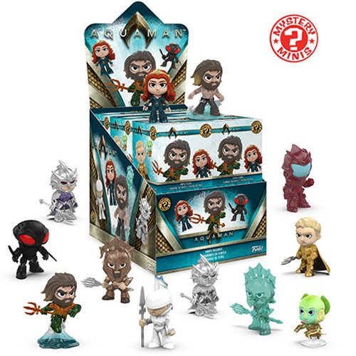 Aquaman Mystery Minis Mini-Figure Display Case
