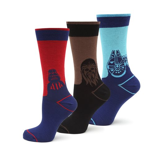 Star Wars Mod 3 Pair Socks Gift Set