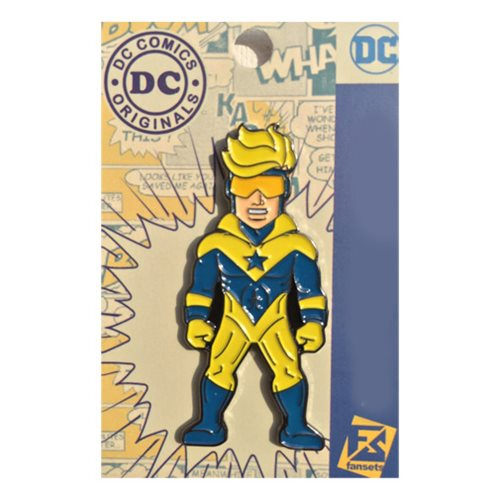 DC Comics Classic Booster Gold Pin