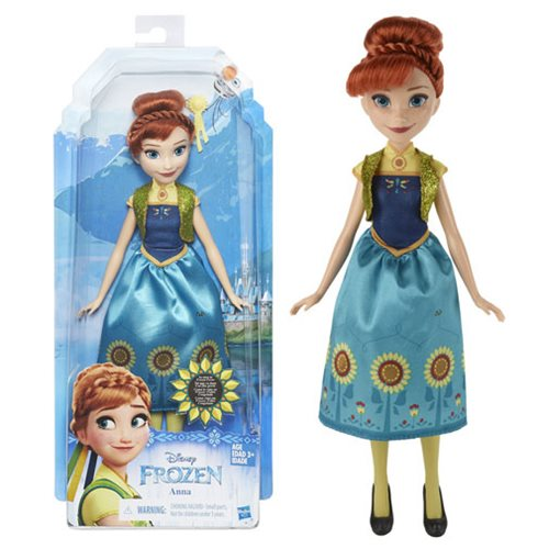 Frozen Fashion Anna Doll