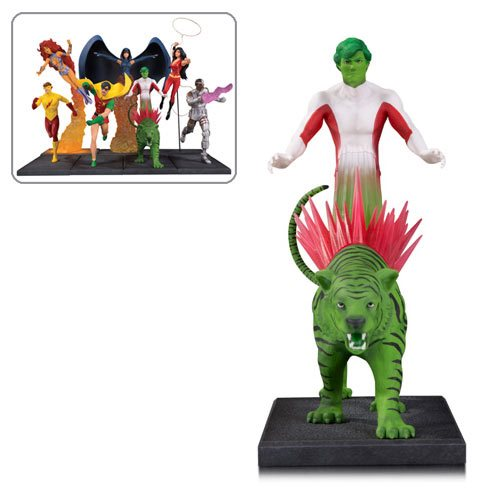 The New Teen Titans Beast Boy Multi-Part Statue
