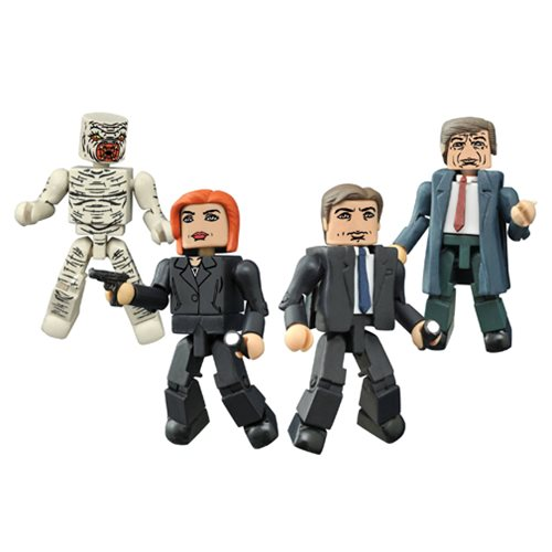 X-Files Classic Minimates Box Set