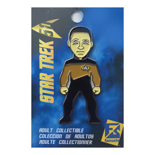 Star Trek Data Pin