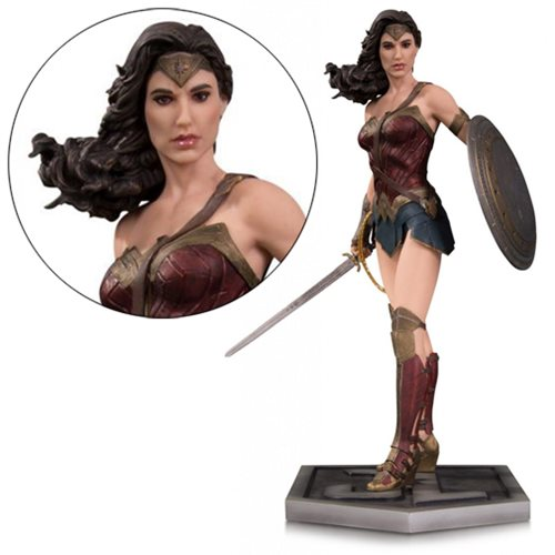 Justice League Movie Wonder Woman Statue
