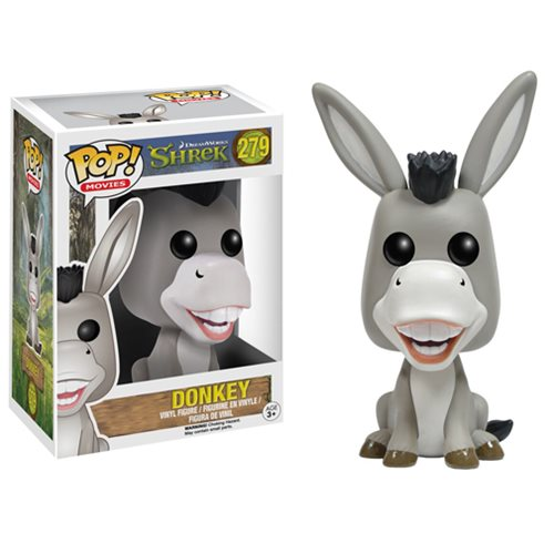 Shrek Donkey Pop! Vinyl Figure, Not Mint
