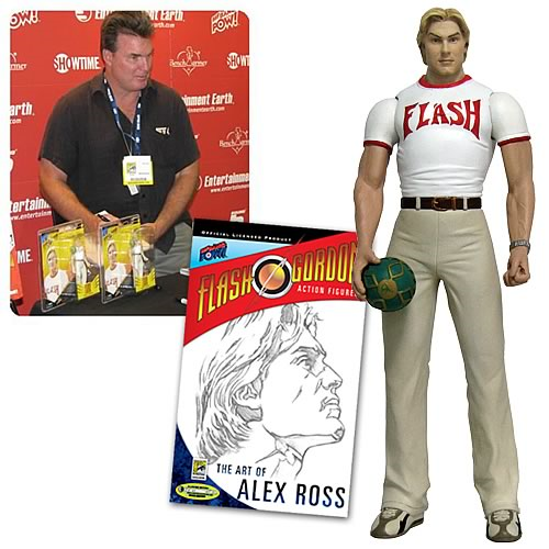 EE Exclusive Signed Alex Ross Flash Gordon Action Figure