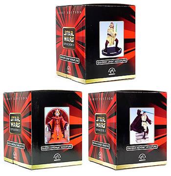 Miniature Figurines 3-Pack