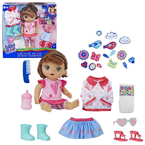 Baby Alive So Many Styles Baby Doll - Brown Straight Hair, Not Mint