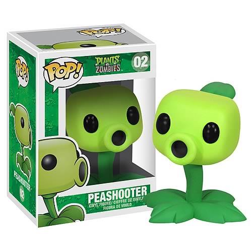 Plants vs  Zombies Peashooter Pop! Vinyl Figure
