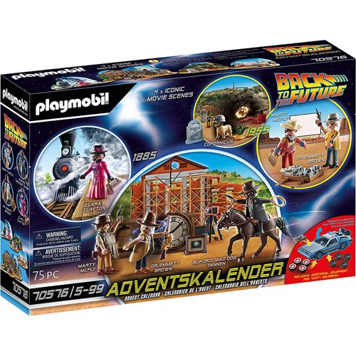 Playmobil 70576 Back to the Future Part III Advent Calendar
