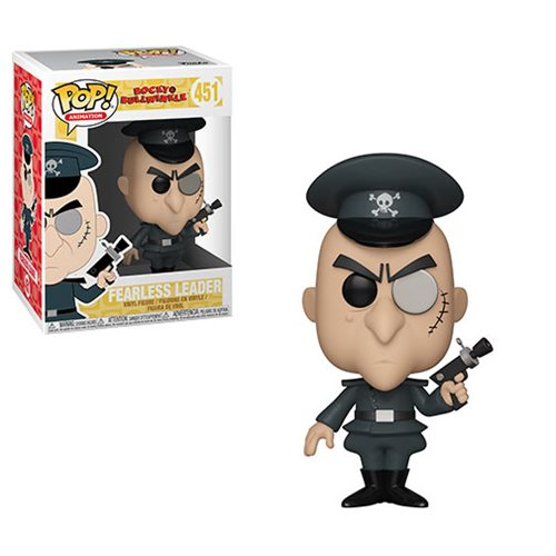 Rocky and Bullwinkle Fearless Leader Pop! Vinyl Figure #451