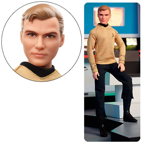 Barbie Star Trek 50th Anniversary Kirk Black Label Doll