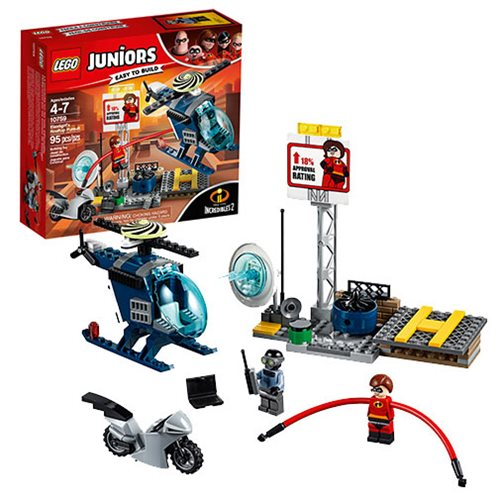LEGO Juniors Incredibles 10759 Elastigirl's Rooftop Pursuit