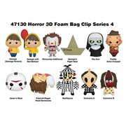 Horror Series 4 Figural Key Chain Random 6-Pack