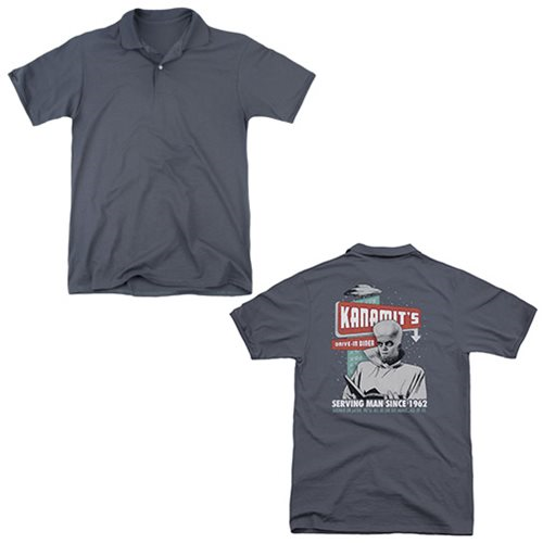 The Twilight Zone Kanamit's Diner Polo T-Shirt