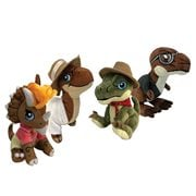 Jurassic Park Clawzplay Plush Wave 1 Set