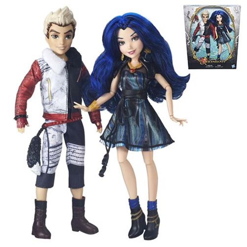 Disney Descendants Evie and Carlos Doll Two-Pack
