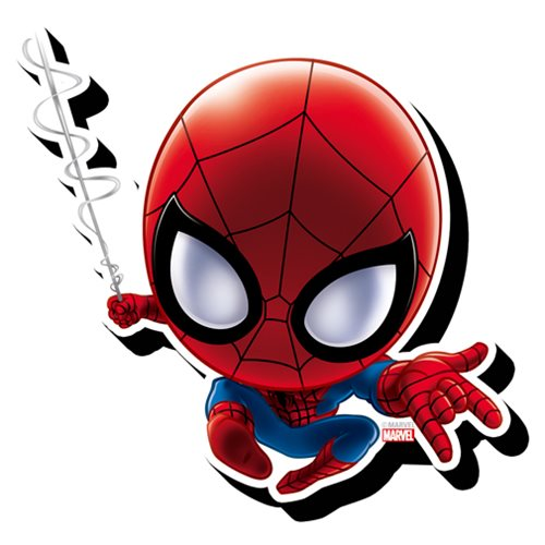 Spider-Man Chibi Funky Chunky Magnet