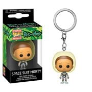 Rick and Morty Space Suit Morty Pocket Pop! Key Chain