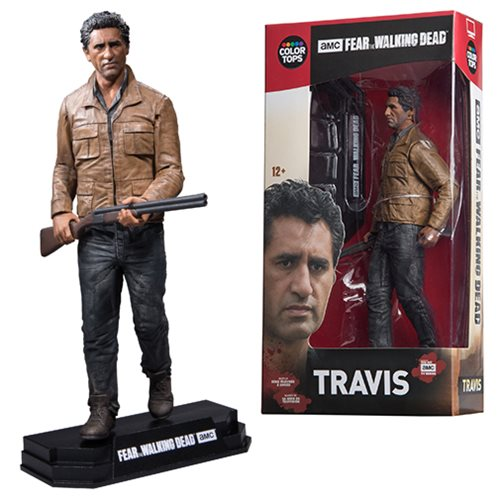 Fear the Walking Dead Travis Manawa Color Tops Red Wave #3 Action Figure