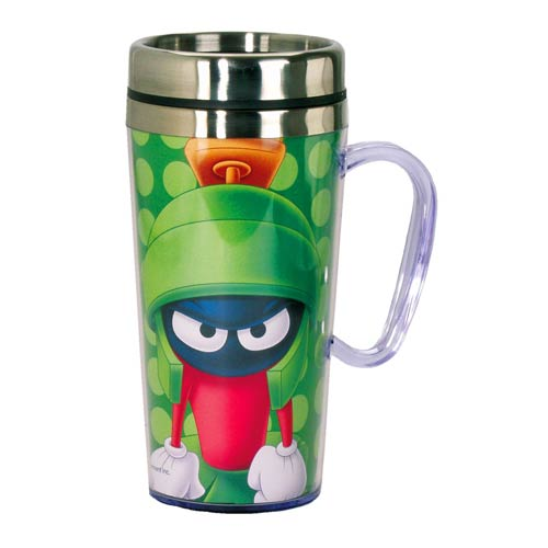 Looney Tunes Marvin the Martian Insulated Travel Mug with Handle