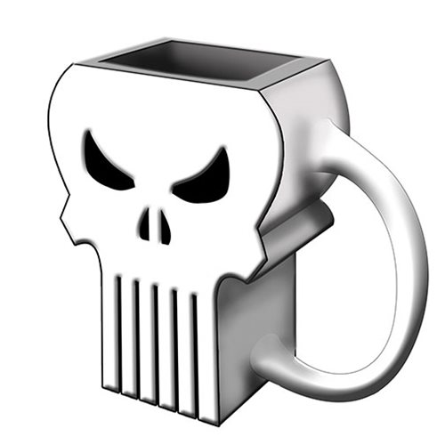 Marvel The Punisher 3D Sculpted Ceramic Mug
