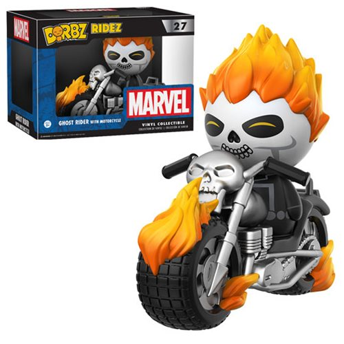 Ghost Rider with Motorcycle Dorbz Ridez Figure
