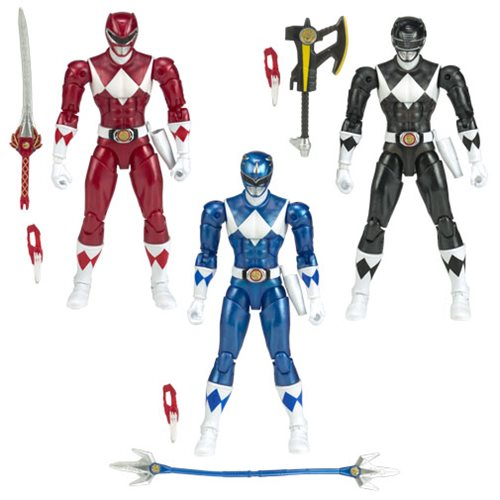 Mighty Morphin Power Rangers Legacy Wave 4 Figure Case