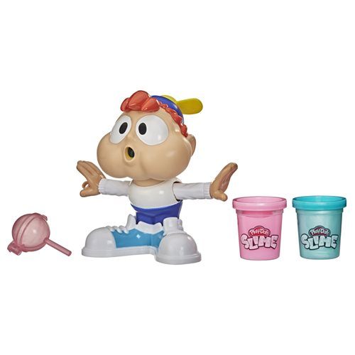 Play-Doh Slime Chewin' Charlie Slime Bubble Maker Toy