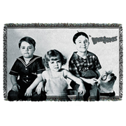 Little Rascals The Gang Woven Tapestry Throw Blanket