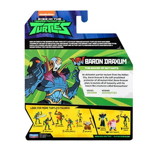 Teenage Mutant Ninja Turtles Wave 1 Basic Figure Case
