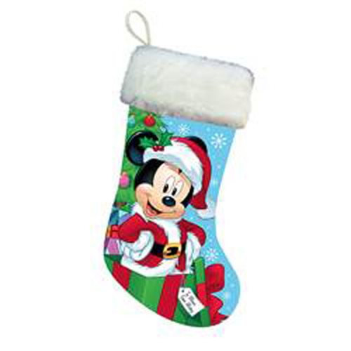 Mickey Mouse Santa 18-Inch Stocking