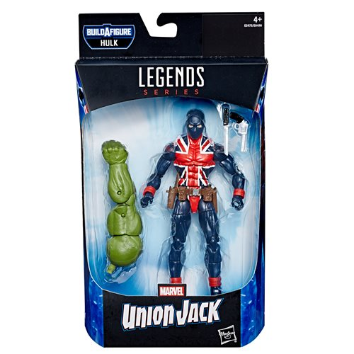 Avengers Marvel Legends 6-Inch Union Jack Action Figure