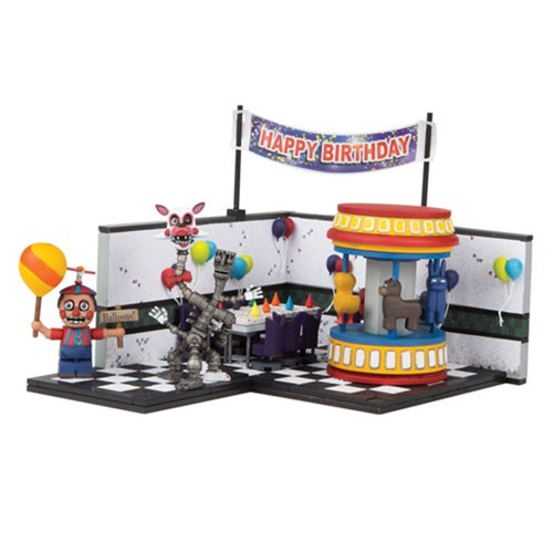 Five Nights at Freddy's Game Area Large Construction Set
