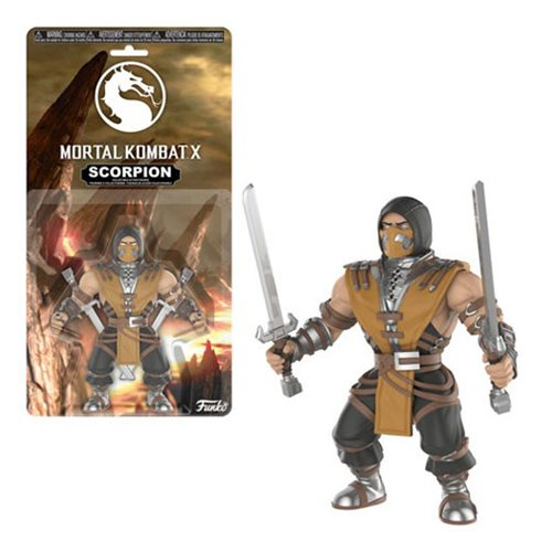 Mortal Kombat Scorpion Action Figure, Not Mint