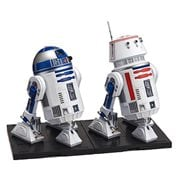 Star Wars R2-D2 and R5-D4 1:12 Scale Model Kit Set