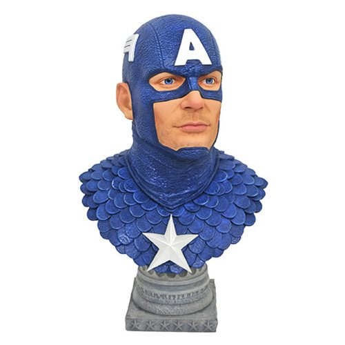 Legends in 3D Marvel Captain America 1:2 Scale Bust