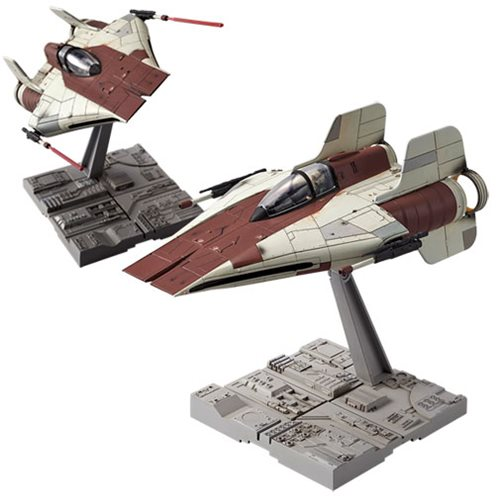 Star Wars A-Wing Starfighter 1:72 Scale Model Kit