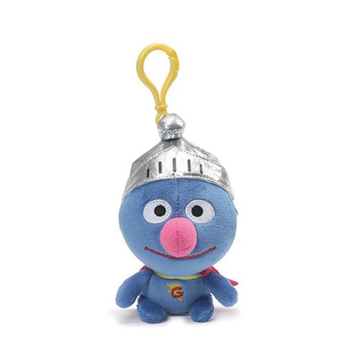 Sesame Street Super Grover 5-Inch Backpack Clip Key Chain