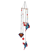 Superman Figural Metal Wind Chimes