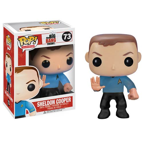 Star Trek Big Bang Theory Sheldon Pop! Vinyl Figure